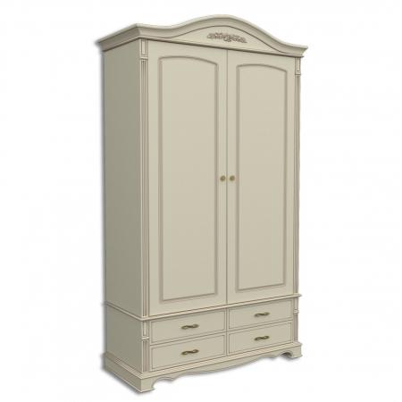Шкаф двухдверный, с 4-мя выдвижными ящиками Акорн-м купить