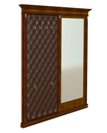 Панель-вешалка напольная с зеркалом Акорн-м купить