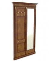 Панель-вешалка напольная с зеркалом