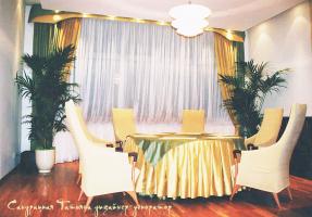 Текстиль для переговорной комнаты